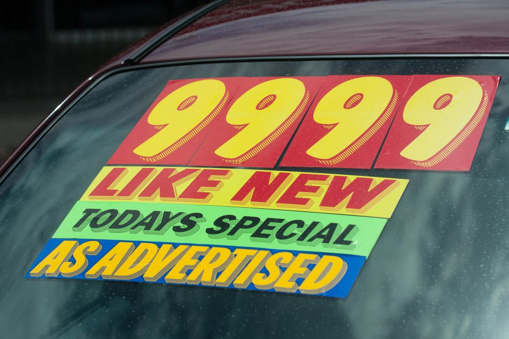 Should I Buy a New Car or a Used Car | Instant Windscreens